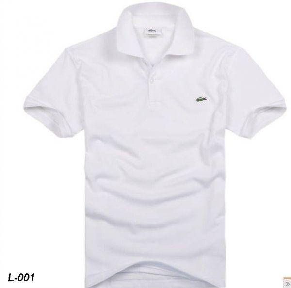 840349d1db9 Camisa Polo Lacoste- Branca L-001 - Loja de stylusimportados